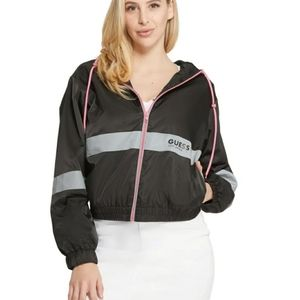 New Guess camly reflective logo Authentic Jacket